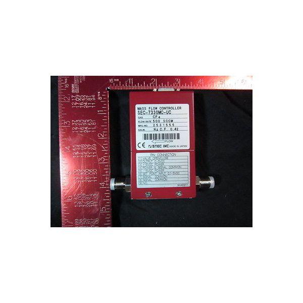 STEC SEC-7330MC-UC-500SCCM-CF4 Mass Flow Controller; Gas: CF4, Flow Rate: 500SCC