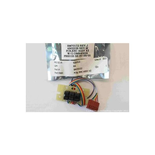 BROOKS BM70152 PCB, ENC ASSY XZ