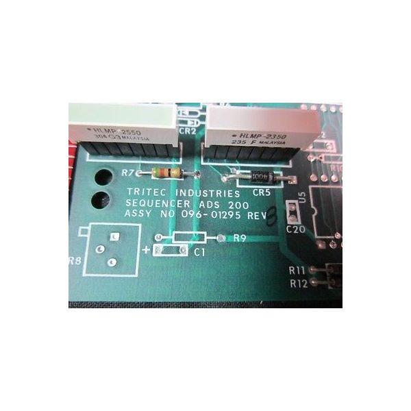 TRITEC INDUSTRIES 096-01295 PCB CONTROL PANEL ADS 200