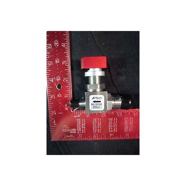 AP TECH AP4625S 2PW MV6 TW6 LT/RD DIAPHRAGM VALVE, MAX PRESSURE 250 PSI