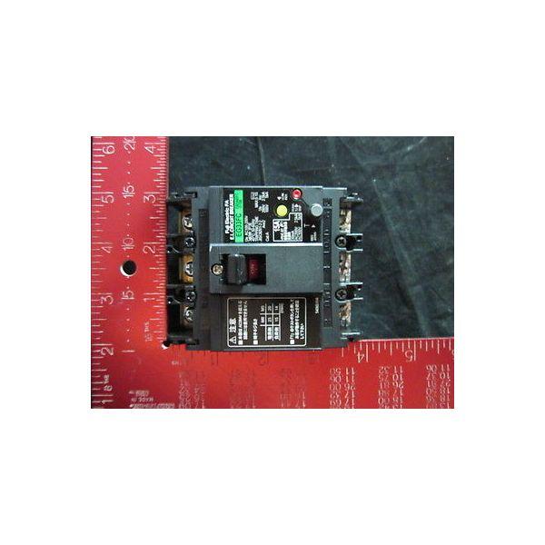FUJI ELECTRIC EG33FC-15A 15AMP 3-POLE 30mA EARTH LEAKAGE BREAKER