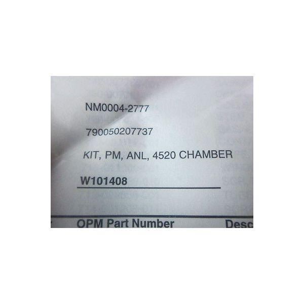 Net Mercury NM0004-2777 Bellows Kit PM Annual 4520 Chamber