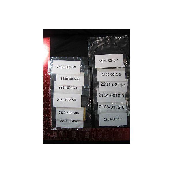 EDWARDS 0322-6061-1 Gasket Kit 5-3  S5000 Viton