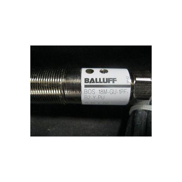 BALLUFF 18M-GU-1PF-B2-Y-PU SWITCH PROXIMITY OPTOELE BOS