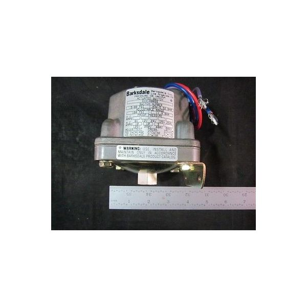 Applied Materials (AMAT) 4250040 PRESSURE SWITCH (LARGE); 0.5-80 PSI, 160-PSI PR