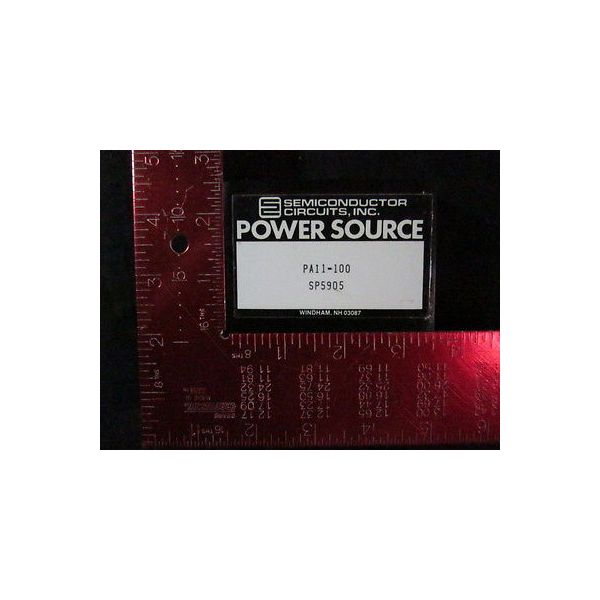 SEMICONDUCTOR CIRCUITS INC PA11-100 SP5905 Power Supply, Power Source 5VDC 100ma