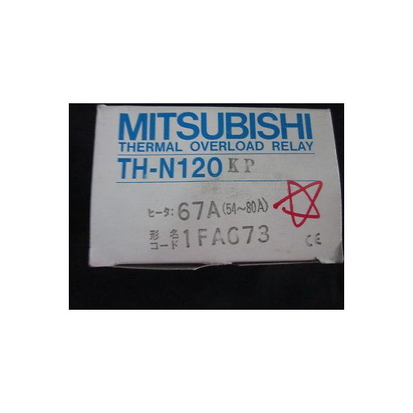 MITSUBISHI TH-N120KP-67A RELAY, THERMAL