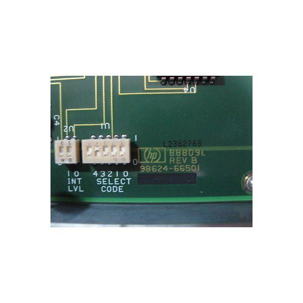 HEWLETT PACKARD 98624-66501 HP98624A HP-IB INTERFACE CARD