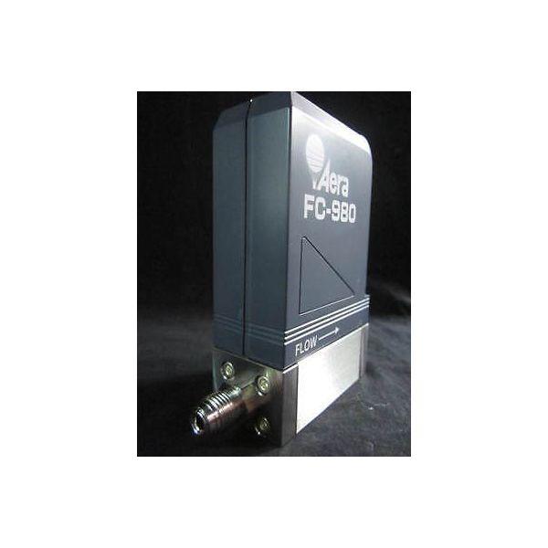 AERA FC-980 MASS FLOW CONTROLLER, GAS O2, RANGE 10SCCM