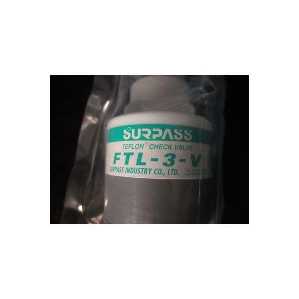 SURPASS FTL-3-V TEFLON CHECK VALVE