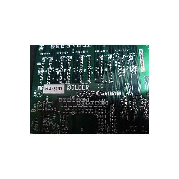 Canon BG4-8193 RC-LB PCB Repaired, BH8-1767-01
