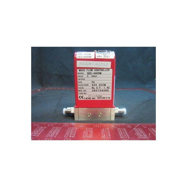 Applied Materials (AMAT) 0224-42723 MFC STEC 4400MC 500SCCM HE 5-221