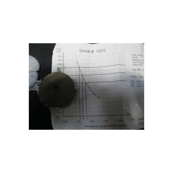SPECIALTY COMPONENTS 29508 AIR BEARING; TEC#: 24512, DWG#:27190