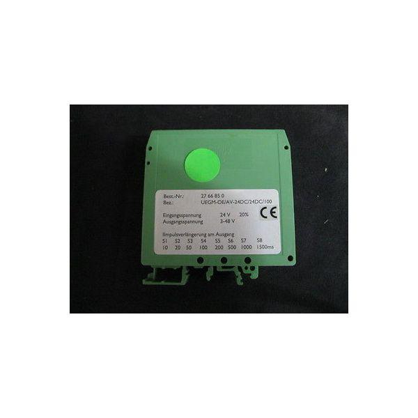 PHOENIX CONTACT UEGM-OE/AV-24DC/24DC/100 PULSE EXPANSION MODULE