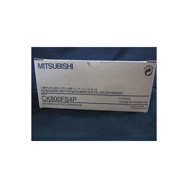 MITSUBISHI CK800FS4P PAPER SHEET SETFOR MITSUBISHI DIGITAL COLOR PRINTER,150-004