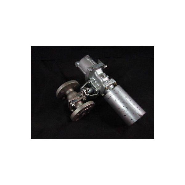 KTM KITAMURA VALVE MFG CO AG06S-0600-31 VALVE BALL SS AIR actuator,20A, 4KGF/CM2