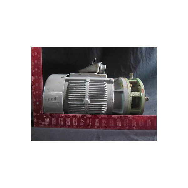 MIEIDENSHA VTIS70-NR 3 PHASE INDUCTION MOTOR, 440V, 60 Hz, 2.5A, 3490 RPM, CODE