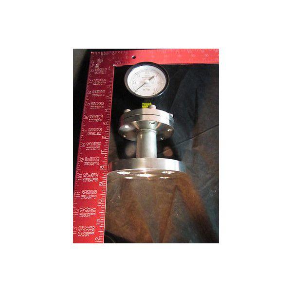 KURITA WATER 75 0-0.6MPASUS316 25AFF PRESSURE GAUGE 75 0-0.6MPASUS316 25AFF