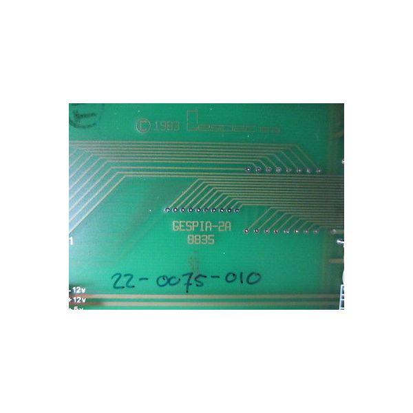 LAM 22-0075-010 PCB, GESPAC PIA BOARD