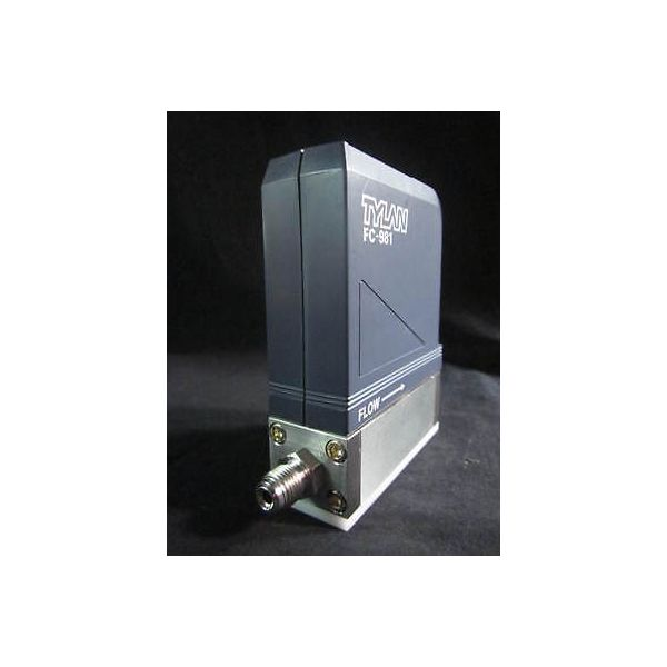 TYLAN FC-981 MASS FLOW CONTROLLERM GAS O2, RANGE 10SLM
