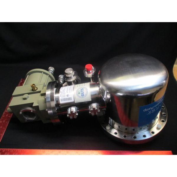 CTI-Cryogenics 8107819G001 PUMP CRYO-TORR HIGH VACUUM PUMP