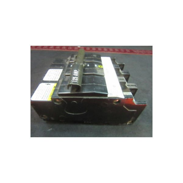 Square D QOB3125VH 125 AMP, 3 POLE, SQUARE D