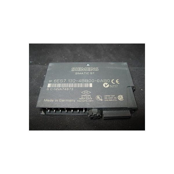 SIEMENS 6ES7 132-4BB00-0AB0 MODULE, 24VDC 2PT DIGITAL OUT