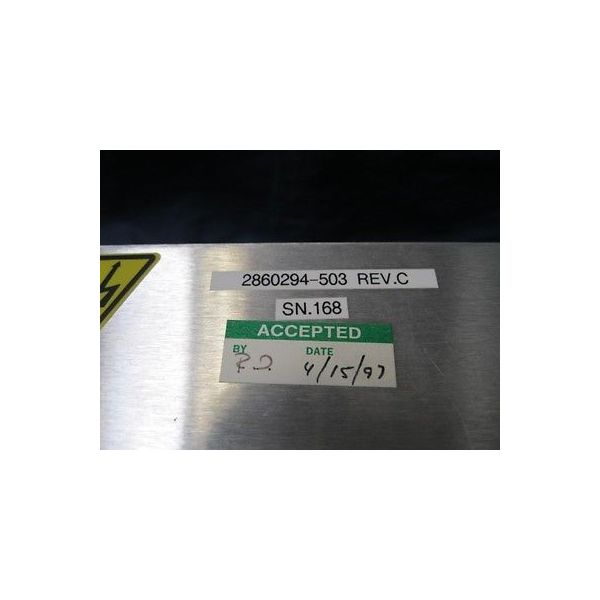 GSI 2860294-503 POWER SUPPLY, LASER ASSEMBLY; 2870416