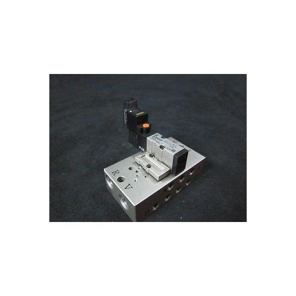 SMC VJ3133T Solenoid Valve Assembly, Pressure: 0.15~0.7MPa