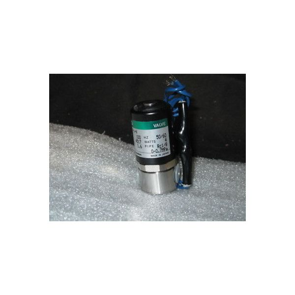 CKD HB21-6-1-N-AC100V VALVE, SOLENOID 100V 4W 0-.7M