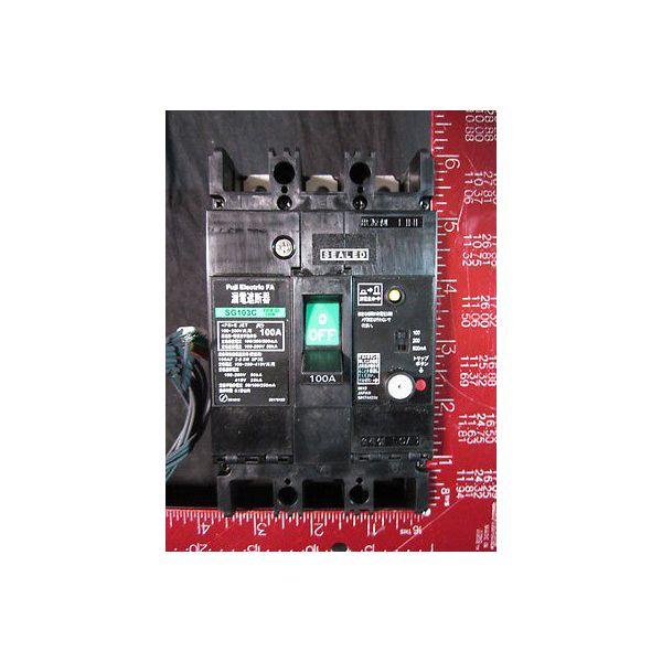 FUJI SG103C-EB3ESD-100KK 100A AC100-200-415V, 100/200/500mA; CIRCUIT BREAKER, EA