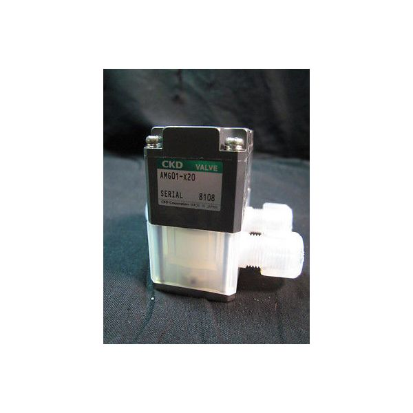 TEL 012-001009-1 VALVE Teflon CKD AMG01-X20, AMG01-X20 (199880010811)