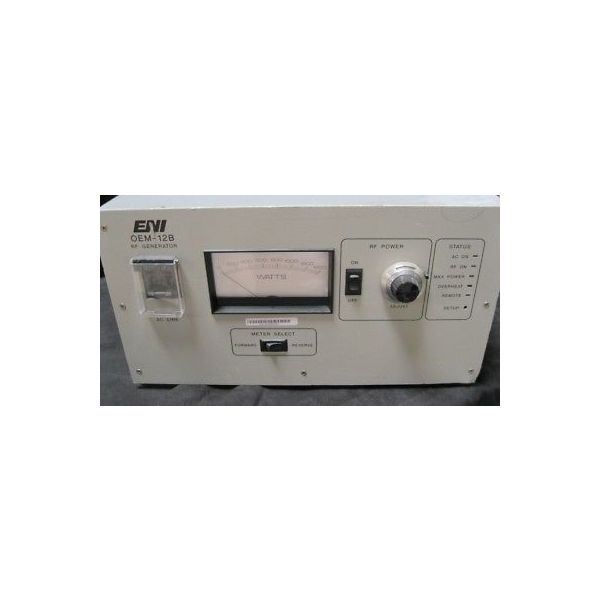 Applied Materials (AMAT) 0190-70080 ENI OEM-12B-02 RF GENERATOR POWER SUPPLY