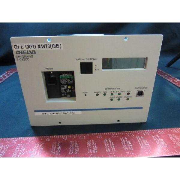 CANON ANELVA 9008-62817   CRYOPUMP CONTROLLER CRYONAVI III P-012CC
