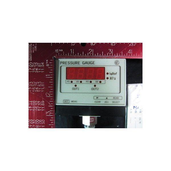 NAGANO KEIKI GC72-223 Pressure Sensor Switch Gauge, Power: 24VDC, Type: GC72