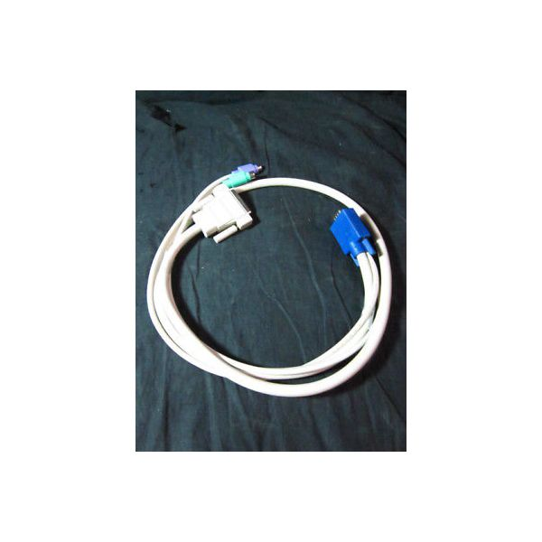 CYBEX 6102-0003-01 CIFCA-4A; CABLE ASSY, 4', VGA, PS/2, AVOCENT 4FT KVM, C