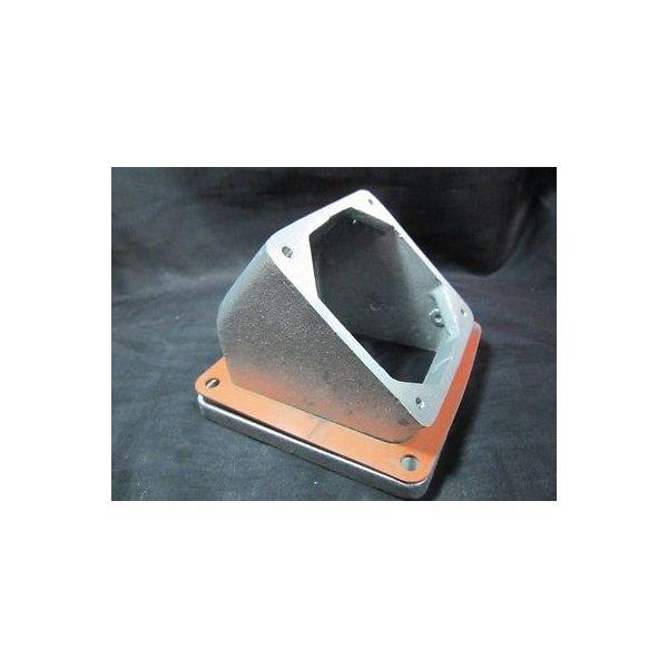 AMAT 3300-03180 FTG ADPTR 45 DEG BOX TO COVER 600VAC 60A CONN