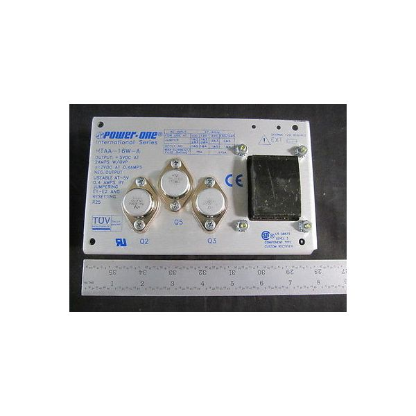 POWER ONE HTAA-16W-A Power Supply, International Series
