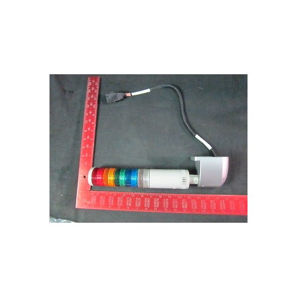 AMAT 9150-01180 CA ST4 5 Color (Red, Yellow, Green, Orange) Signal Tower, 24V AC