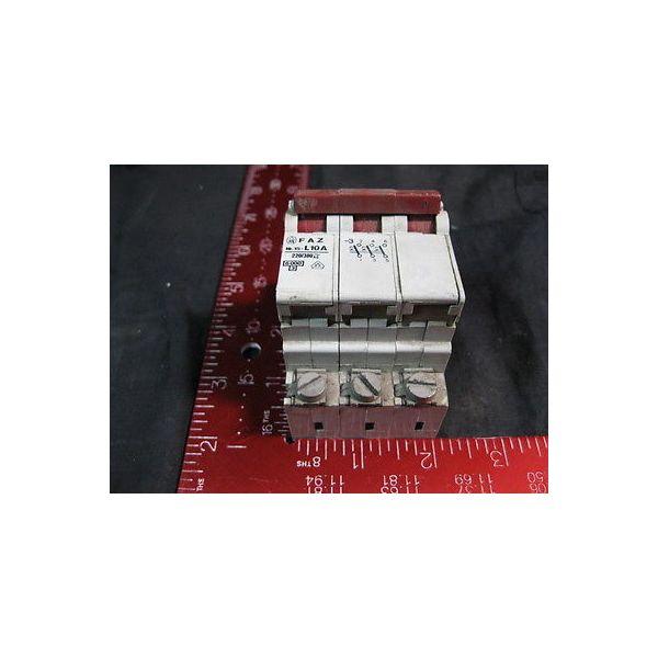 KLOCKNER-MOELLER NR15-L10A FAZ 3-POLE CIRCUIT BREAKER