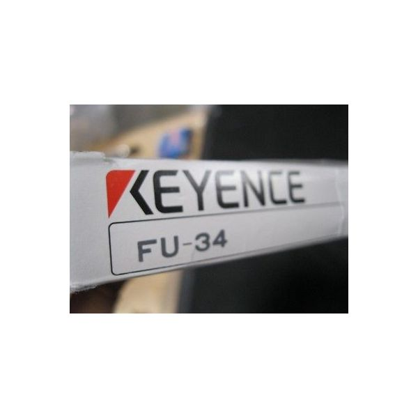 DNS 5-39-06942 KEYENCE FU-34, PHOTO SENSOR