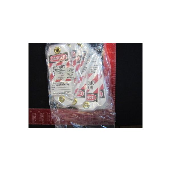 BRADY 65520 LOCK OUT TAG 25/PACK