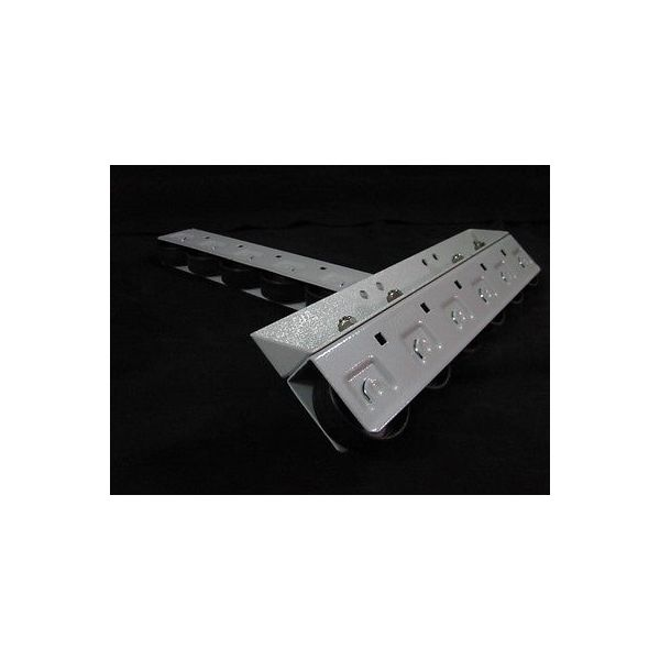 Edwards vacuum A55101005 Caster Heavy Duty, 6 WHEEL TRACK,pkg 2