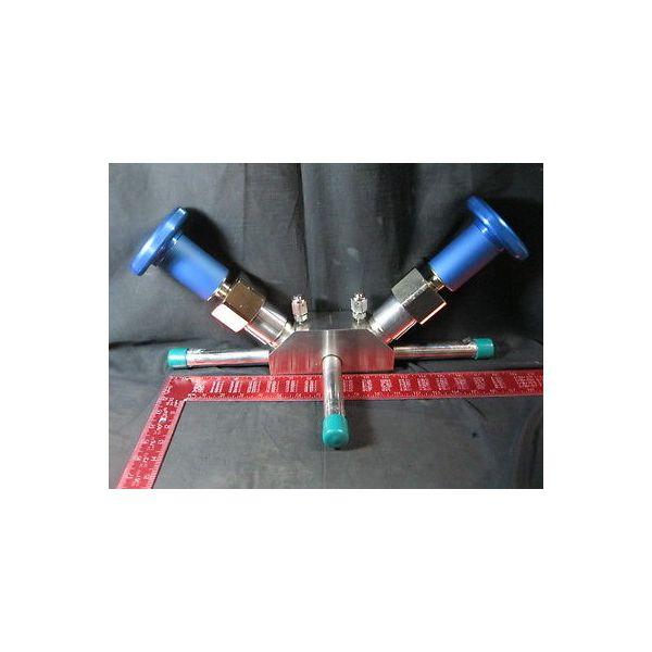 PARKER DHT508M10808-10 VALVE SS BW DUPLEX HORIZONTAL 1 MAIN X