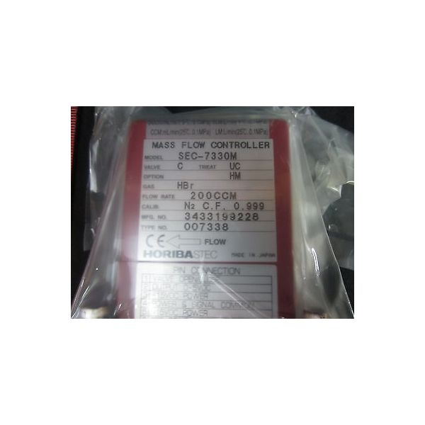 HORIBASTEC SEC-7330M-C-UC-HBR-200CCM-NO SEC 7330M, MFC, GAS HBR,FLOW RATE 200CCM