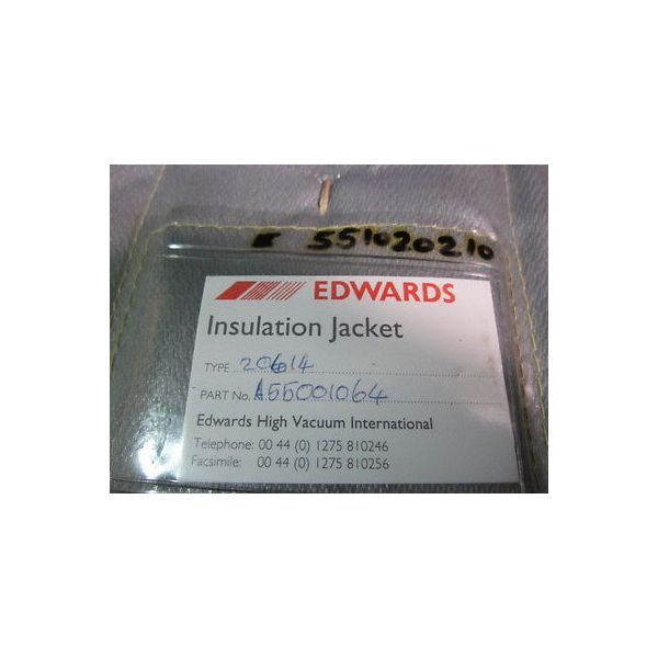 EDWARDS A55001064 80MM PIPE INSULATION FOR 40MM PIPE