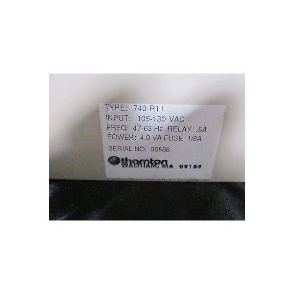 THORNTON 740-R11 ANALYZER  % REJECTION MODEL W740-R11