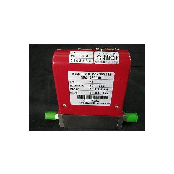 STEC INC SEC-4500MC AR STEC MFC, VALVE: C, GAS: AR, FLOW RATE: 20 SLM, CALIB.: A