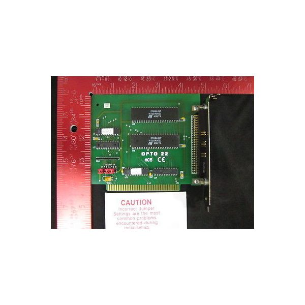 OPTO 22 AC5 C E ISA I/O 24BIT ADAPTER CARD TOOLKIT W/CABLE