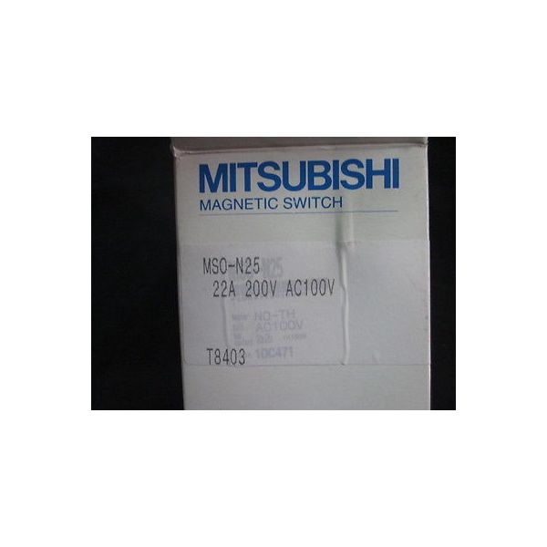 MITSUBISHI MSO-N25 RELAY, THERMAL,5.5kW